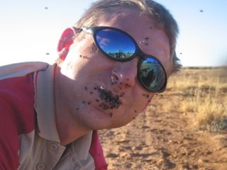 The joys of working in the Australian Outback