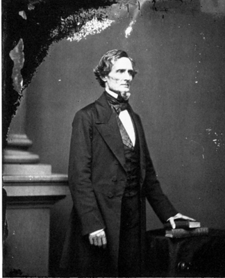 As Secretary of War, Jefferson Davis, was responsible for the import of camels into the USA in 1856 (Image US Senate circa 1860)